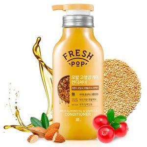 «Миндаль и Гранола» Питательный бальзам Fresh Pop Sweet Almond oil & Granola Сonditioner 500 мл