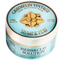 Маска для очищения пор на основе трав и глины Graymelin Herb & Clay Solution Pore Control Mask 100 г
