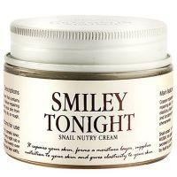 Питательный крем с муцином улитки и маслом ши Graymelin Smiley Tonight Snail Nutry Cream 50 мл