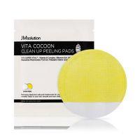 Отшелушивающий пилинг-пэд с экстрактом кокона шелкопряда JM Solution Vita Cocoon Clean Up Peeling Pads 1шт