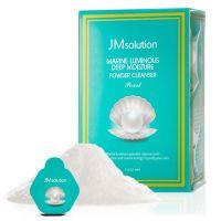Увлажняющая энзимная пудра для умывания с жемчугом JM Solution Marine Luminous Deep Moisture Powder Cleanser Pearl 0,35г * 30 шт