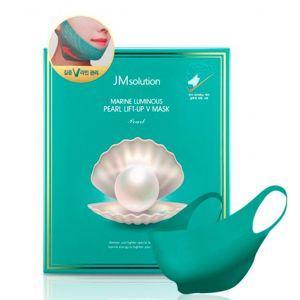Лифтинг-маска для V зоны с жемчугом JM Solution Marine Luminous Pearl Lift-up V Mask 25 г