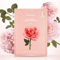 Тканевая маска с экстрактом дамасской розы JM Solution Glow Luminous Flower Firming Mask Rose 30 мл