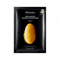 Тканевая маска с протеинами кокона золотого шелкопряда JM Solution Water Luminous Golden Cocoon Mask 45 г