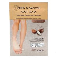 Маска для ног с маслом ши Labute Shiny & Smooth Foot Mask 18 мл