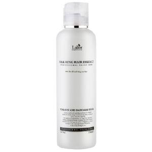 Жидкий шелк для зеркального блеска волос Lador Eco Silk-Ring Hair Essence 150 мл.