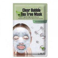 Очищающая кислородная маска с чайным деревом Labute Clear Bubble Tea Tree Mask, 20 мл