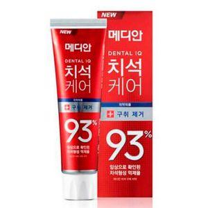 Зубная паста для всей семьи с цеолитом Median Toothpaste Dental IQ 93% Remove Bad Breath 120 г