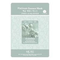 Маска тканевая для лица Mijin Essence Mask (платина) 23гр