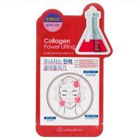 Тканевая маска с коллагеном Mijin care Uniquleen Collagen Power Lifting Mask 26 г