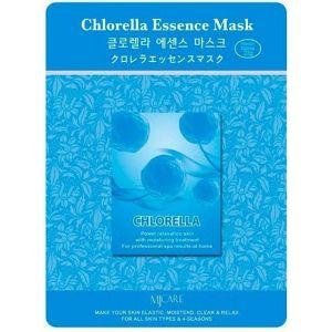 Маска тканевая для лица Mijin Essence Mask (23 гр) хлорелла