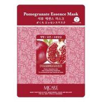 Маска тканевая для лица Mijin Essence Mask Pomegranate (гранат)25гр