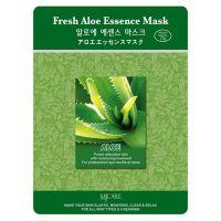 Маска тканевая для лица Mijin Essence Mask Fresh Aloe 25 г
