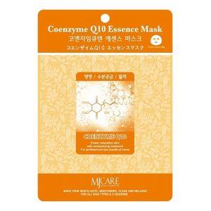 Маска тканевая Mijin Essence Mask Coenzyme Q10 25 г
