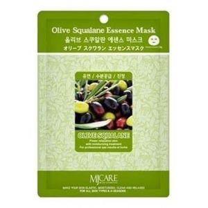Маска тканевая олива Mijin olive squalane essence mask 25 г