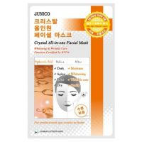 Маска тканевая c гиалуроновой кислотой Mijin Junico Crystal All-in-one Facial Mask Hyaluronic Acid 25 г