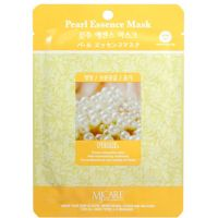 Тканевая маска для лица с жемчугом Mijin care Pearl Essence Mask 25 г