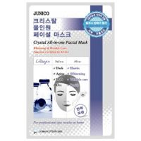 Маска тканевая c коллагеном Mijin Junico Crystal All-in-one Facial Mask Collagen 25 г