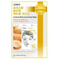 Маска тканевая c аргановым маслом Mijin Junico Crystal All-in-one Facial Mask Argan 25 г