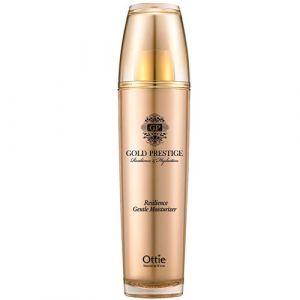 Увлажняющая эмульсия для упругости кожи Ottie Gold Prestige Resilience Gentle Moisturizer, 120 мл