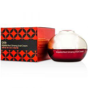 Королевский крем для лица с улиточным муцином и женьшенем Ottie Imperial Red Ginseng Snail Cream, 120 мл