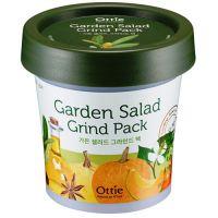 Глиняная освежающая маска для яркости тона кожи с овощным комплексом Ottie Garden Salad Green Pack 100 мл
