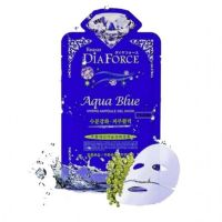 Маска гидрогелевая с морским коллагеном и водорослями - против морщин Dia Forse Ruby Hydro Ampoule Gel Mask 28 г