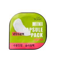 Капсульная антиоксидантная увлажняющая маска с зеленым чаем (смываемая) Scinic Mini Capsule Pack Green Tea 8 мл