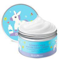 Улажняющий крем на основе ослиного молока SeaNtree Donkey Milk Water Drop Cream 200 мл
