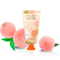 Увлажняющий крем для рук с экстрактом персика SeaNtree Sweet Peach Moisture Hand Cream 30 мл