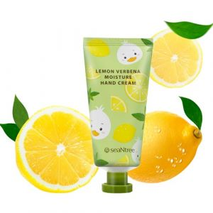 "Cмягчающий и отшелушивающий крем для рук ""Лимон и Вербена"" SeaNtree Lemon Verbena Moisture Hand Cream 30 мл"