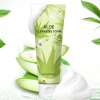 Очищающая пенка для лица с алоеSeaNtree Aloe Cleansing Foam 120 мл