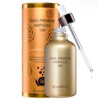 Сыворотка для лица с улиточным муцином SeaNtree Snail Premium Ampoule 100 100 мл
