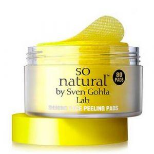 Пилинг-пэды с витамином С So Natural Shining Face Peeling Pads So Natural Shining Face Peeling Pads 80 шт