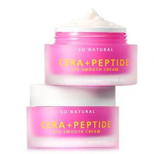 Лифтинг-крем для век премиум класса с керамидами и пептидами So Natural Cera+ Peptide Eye Smooth Cream 30 мл