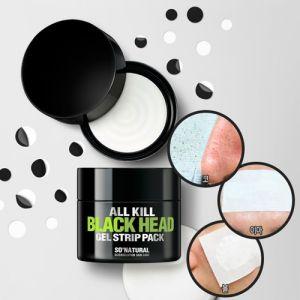 «Убийца черных точек» Маска-паста для глубокого очищения So Natural All Kill Black Head Gel Strip Pack 25 г
