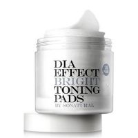 Двусторонние пилинг-пэды для выравнивания тона кожи So Natural Dia Effect Bright Toning Pads 70 шт