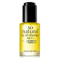 100% натуральное масло для питания и сияния кожи So Natural Shining Face Peeling Pads 30 мл