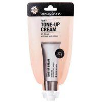 Ухаживающий тональный крем с розовым оттенком для лица Veraclara pinky tone-up cream 27 г