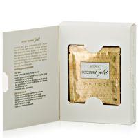 Маска для лица с частицами золота LEOREX, 10 пакетиков по 3,3 мл