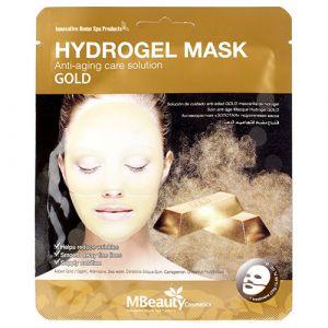 Антивозрастная гидрогелевая маска с золотом Mbeauty 25 г