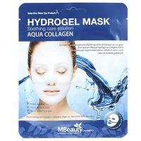 Успокаивающая увлажняющая гидрогелевая маска с коллагеном Mbeauty 25 г