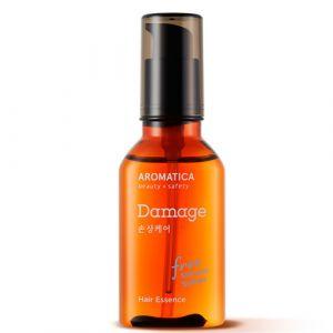 Эссенция для повреждённых волос с маслом арганы Aromatica 50 мл