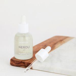 Масло для тусклой кожи лица с нероли Aromatica 30 мл