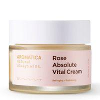Глубокоувлажняющий питательный крем с экстрактом розы Aromatica 50 мл