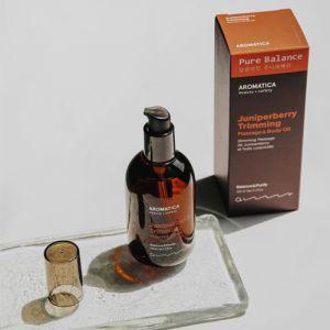 Массажное масло для тела с можжевельником Aromatica 100 мл