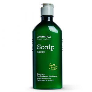 Кондиционер с розмарином для укрепления волос - бессиликоновый Aromatica 250 мл