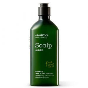 Бессульфатный глубокоочищающий шампунь с розмарином для укрепления волос Aromatica 250 мл
