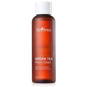 Успокаивающий тонер, 80% экстракта зеленого чая Isntree 200 мл