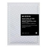 Маска листовая для лица осветляющая Mizon 30 мл